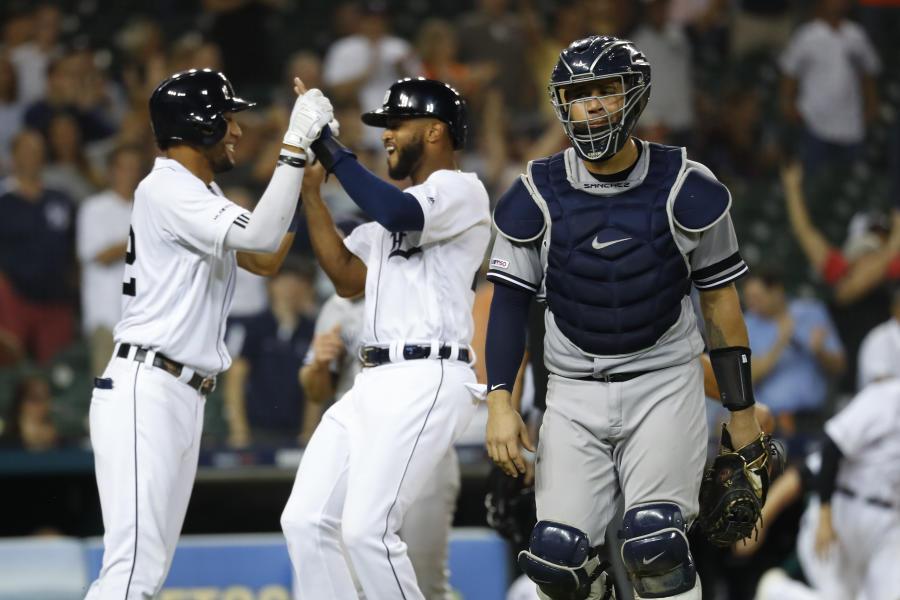 Milwaukee Brewers Bedroom In A Box Major League Baseball: NY Yankees 11 - 12 Detroit: Final