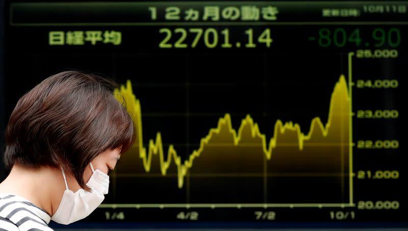 Borsa Tokyo, Nikkei ai massimi 1 mese grazie a ricoperture, balzo Softbank
