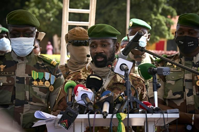 Mali junta chief's govt role softened after regional pressure