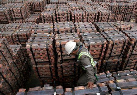 Cobre sube a máximo de una semana por expectativas de demanda China