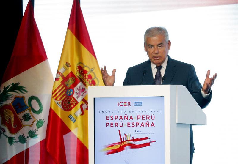 El primer ministro de Perú confirma la renuncia del ministro de trabajo
