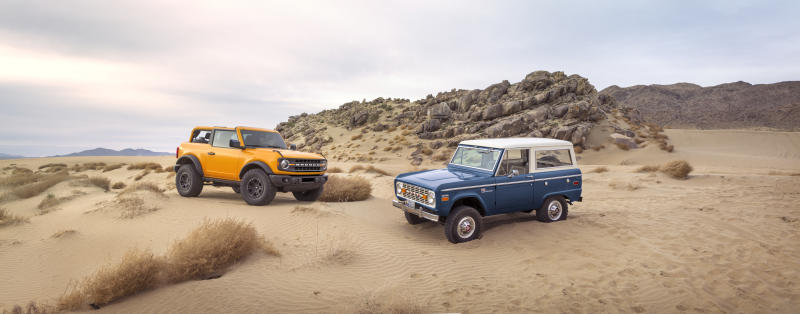 Ford Bronco vintage 2021 Bronco 2