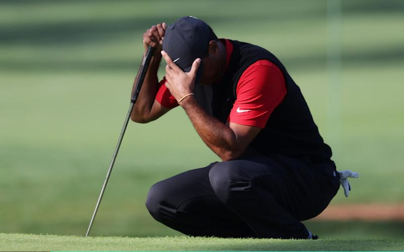 How Tiger Woods shot a 10 on a par three at the Masters: stroke by stroke