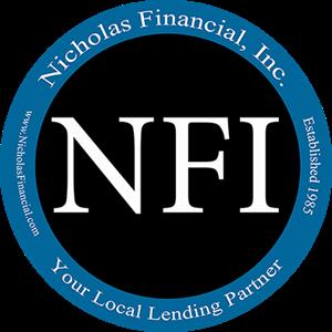 Nicholas Financial, Inc. New Logo