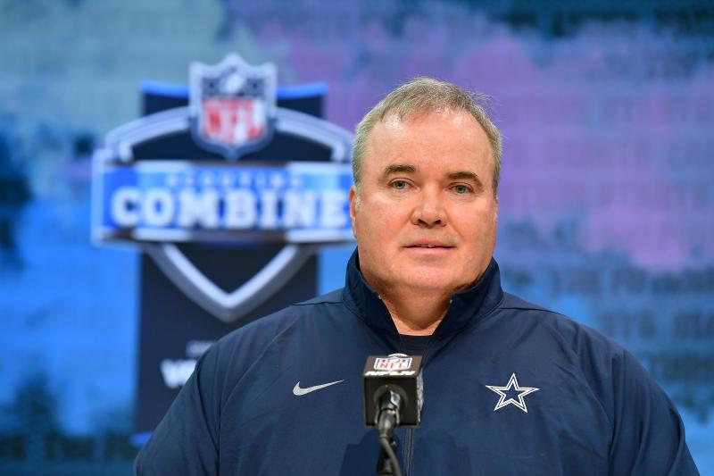 Head coach Mike McCarthy of the Dallas Cowboys