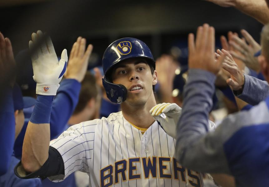 Milwaukee Brewers Bedroom In A Box Major League Baseball: Chi Cubs 1 - 7 Milwaukee: Final