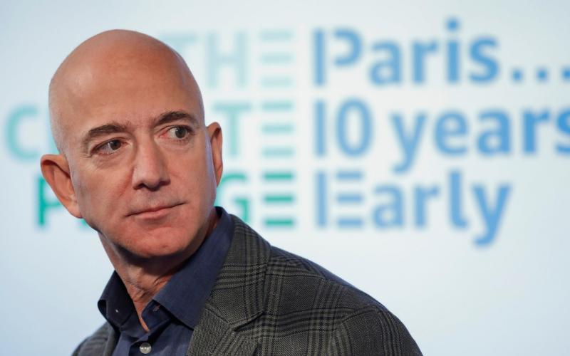 Amazon chief executive Jeff Bezos - AP