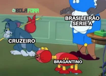 Meme: Cruzeiro na luta contra o rebaixamento