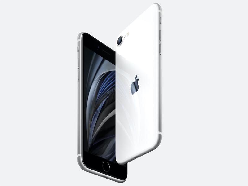 The iPhone SE features a 4.7-inch display. (Image: Dan Howley)