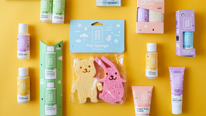 You can get all your baby needs in a bundle from Hello Bello each month.
