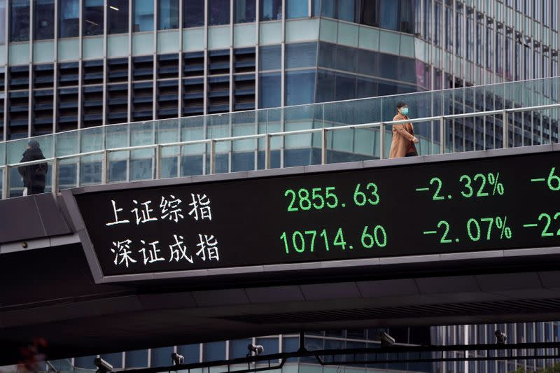 Borsa Shanghai in calo, cautela in vista prossime mosse governo dopo incontri settimana