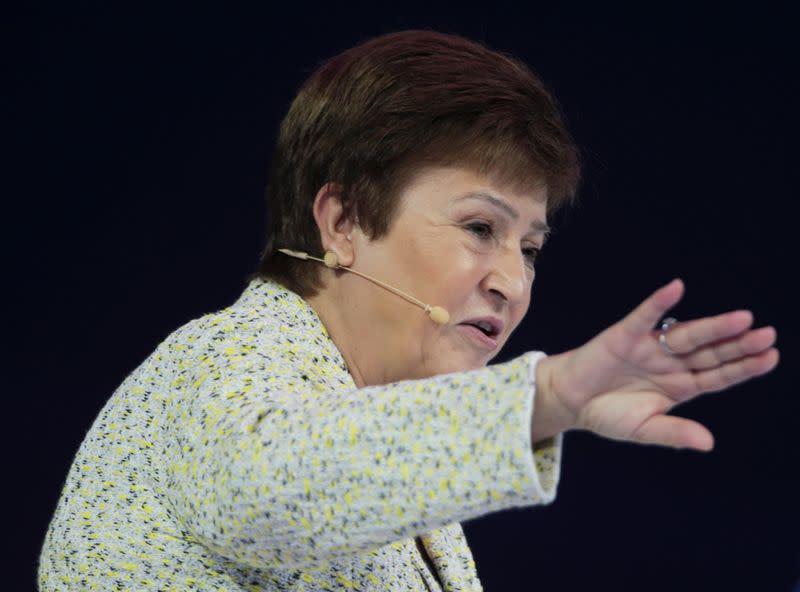 La directora del FMI dice que el coronavirus recortará 0,1 puntos porcentuales al crecimiento global