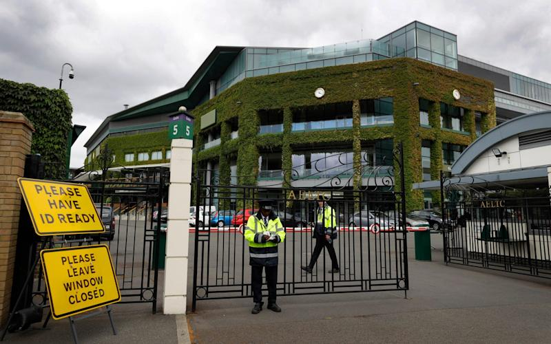Wimbledon -I am missing Wimbledon - but, with tennis ceasing in March, 2020 almost does not seem to deserve such luxury - AP