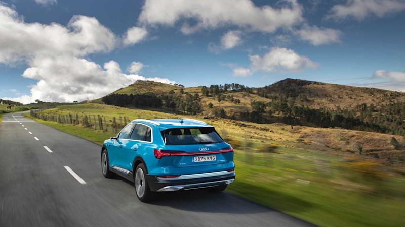 Audi e-tron 2019 primera prueba