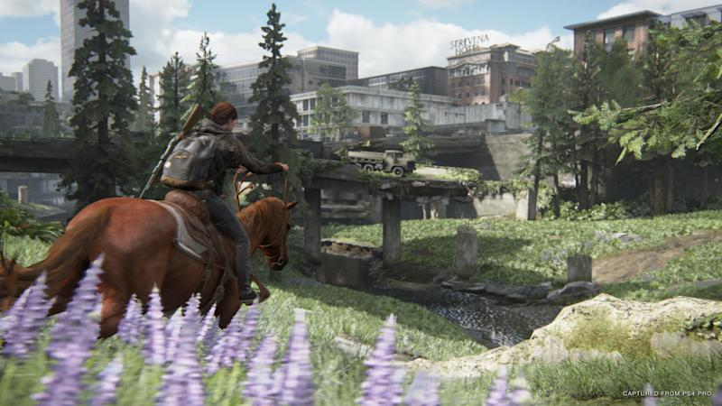 Naughty Dog has done an incredible job building the world of 'The Last of Us II.' (Image: Sony)