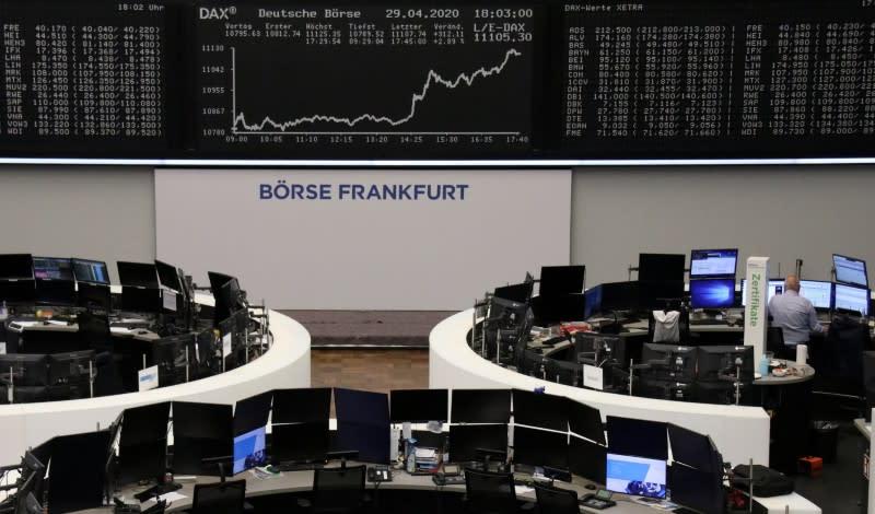 Borse Europa in rialzo su dati positivi dalla Cina, balza Renault