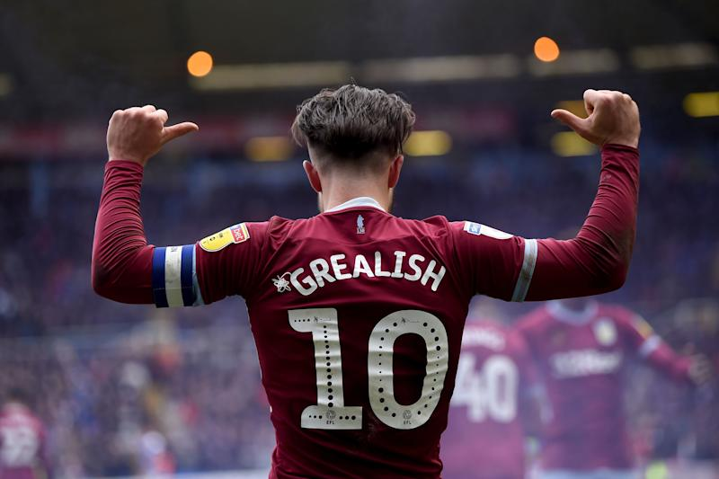 Grealish went on to score the winner in March's Second City derby. (Credit: Getty Images)