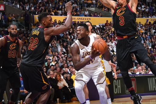Lakers Vs Cleveland 2018 >> Cleveland 113 127 La Lakers Final 2018 03 11 National