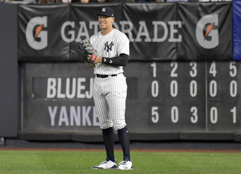reputable site 3bf65 98a64 Toronto 0 - 11 NY Yankees: Final | 2018-09-14 | Major League ...
