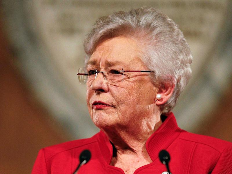 Alabama governor Kay Ivey has apologized to a survivor of the 1963 KKK bombing, who is now seeking restitution from the state. (AP)