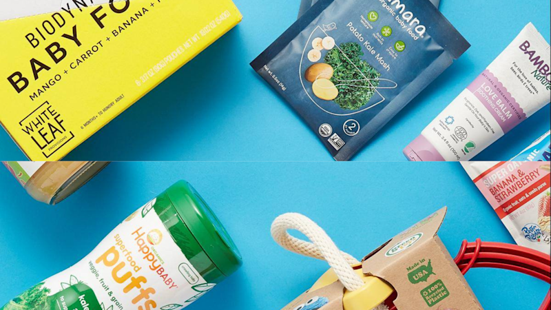 Find organic food and snacks for your baby (and yourself).