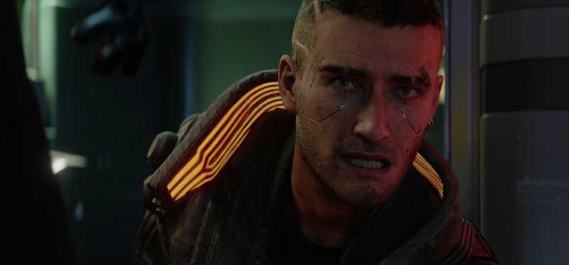 Outside of the Keanu shot, CD Projekt Red's cinematic trailer for 'Cyberpunk 2077' gave us a better idea of the game's storyline. (CD Projekt Red)