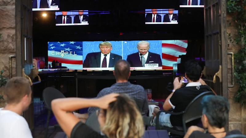 Americans tune in to the first 2020 presidential debate