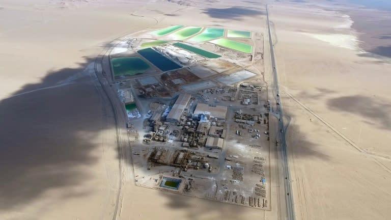 Tribunal chileno da luz verde a minera china para compra de SQM