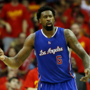 HOUSTON, TX - MAY 17: DeAndre Jordan #6 of the Los Angeles Clippers reacts in the third quarter against the Houston Rockets during Game Seven of the Western Conference Semifinals at the Toyota Center for the 2015 NBA Playoffs on May 17, 2015 in Houston, Texas. (Photo by Scott Halleran/Getty Images)