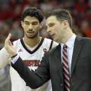 Louisville basketball gets first look at life post-Pitino