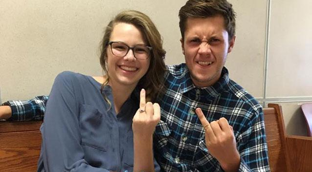Image result for Young Kansas couple die in car crash, just a day after their wedding