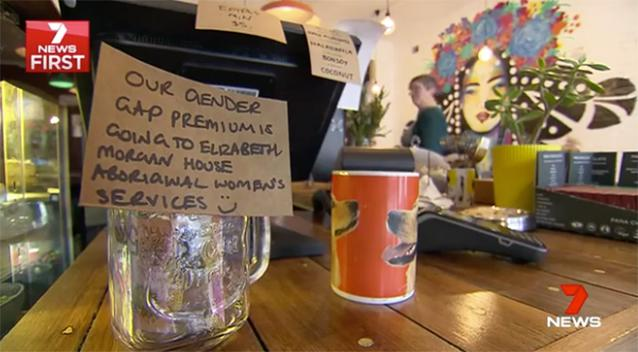 Men Asked to Pay More at Brunswick Cafe