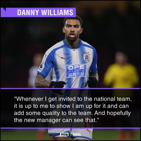 Danny Williams quote GFX