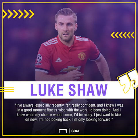 Luke Shaw Manchester United belief