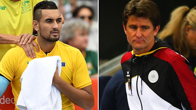 Davis Cup: Kyrgios performs Struff 1st day, Australia-Germany
