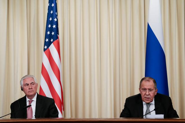 In Moscow, Tillerson Defends Trump's 'Animal' Comment: Assad 'Brought [it] Upon Himself'