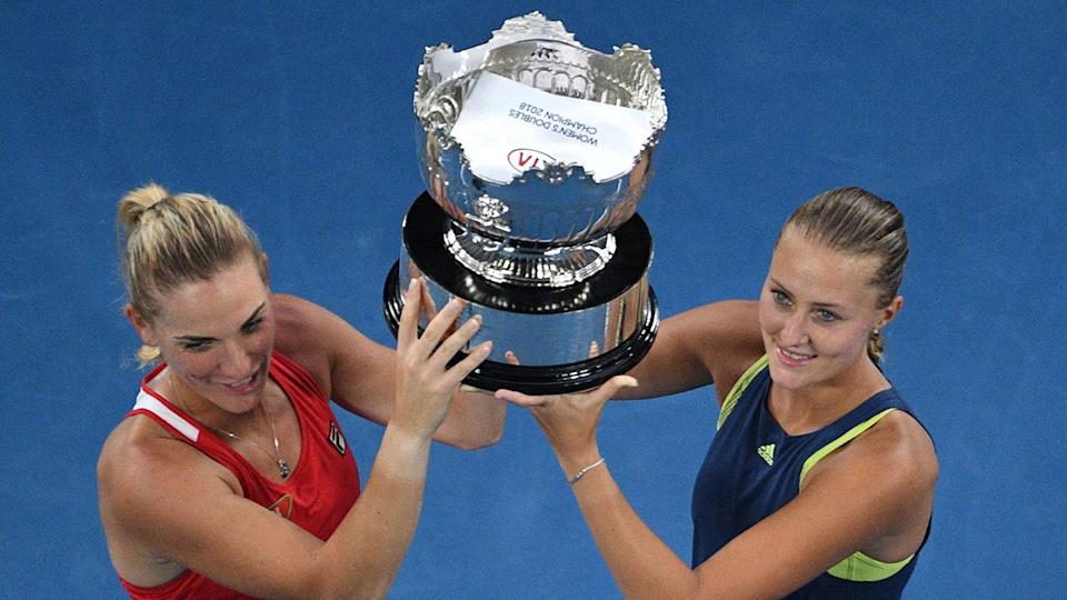 Babos, Mladenovic win Australian Open ladies's doubles…