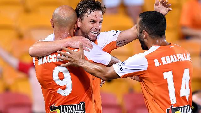 Brisbane Roar 3 Perth Glory 2: Holman settles five-goal thriller