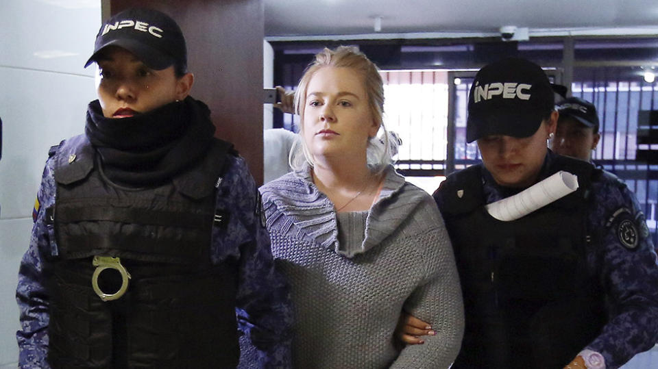Cassie Sainsbury in Colombia plea deal on drug charges