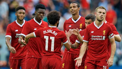 HD Mohamed Salah Liverpool celebrate