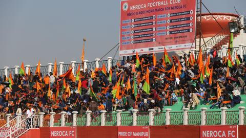 NEROCA FC supporters I-League 2017/2018