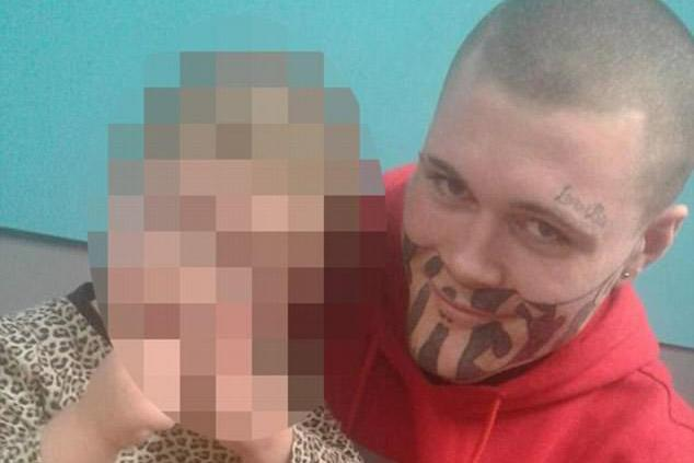 Armed robber Mark Cropp decides to keep 'Devast8' facial tattoo