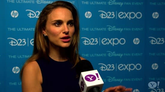 Natalie Portman Talks Asgardian Wardrobe
