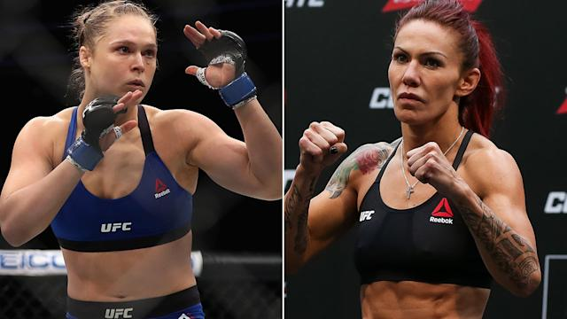 Cyborg Hilariously Responds To Tarverdyan's Claim That Rousey Could Beat Her