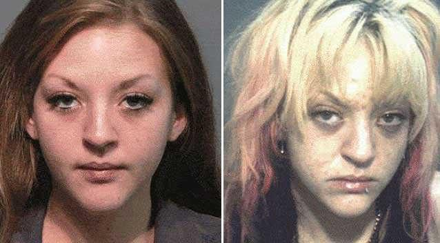 Horrifying faces of drug addiction