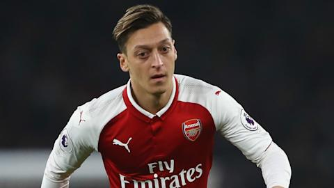 Mesut Ozil Arsenal 2017