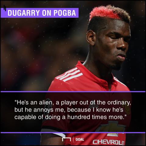 Paul Pogba alien genius capable of more Christophe Dugarry