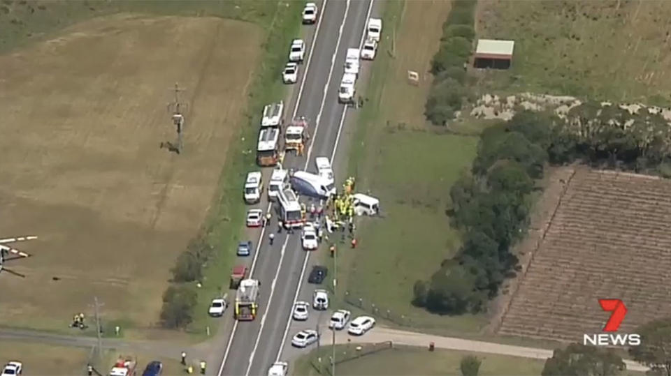 Girl dead, two critical in Sydney van crash