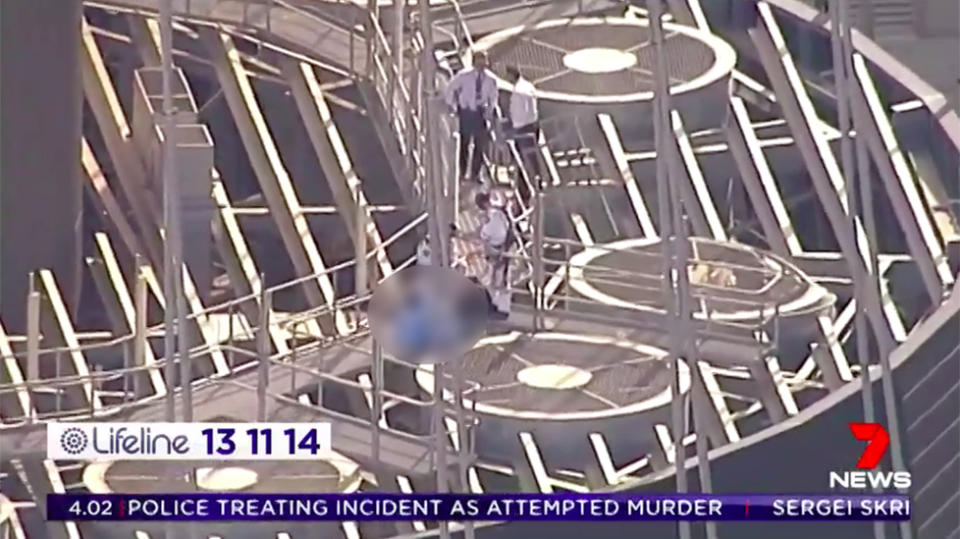 Man plunges 268m to his death after leaping from Sydney's tallest tower