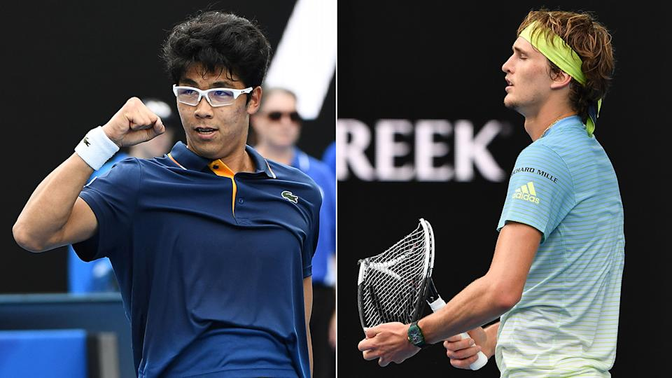 Australian Open: Chung stuns fancied Zverev
